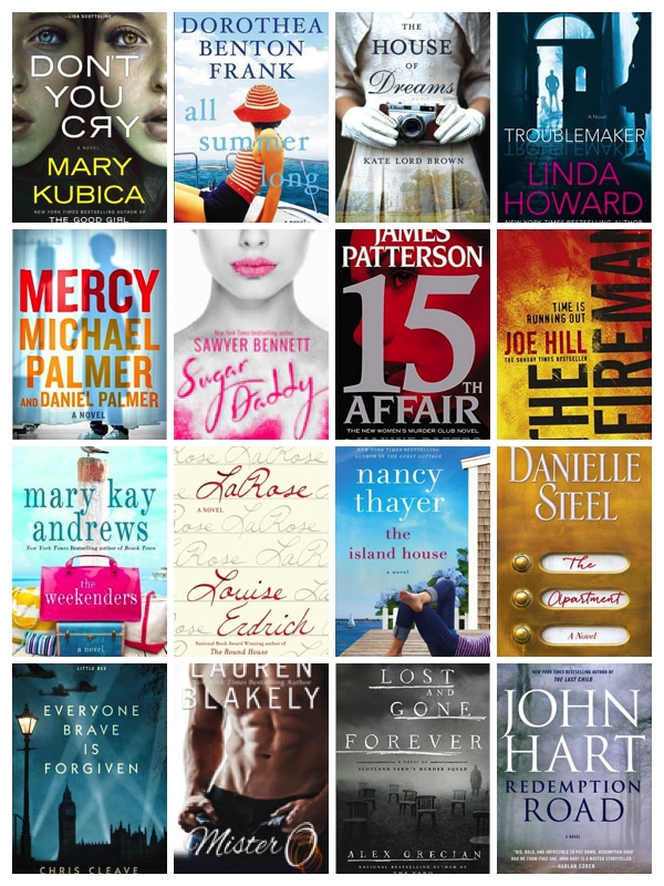 May Releases – Books