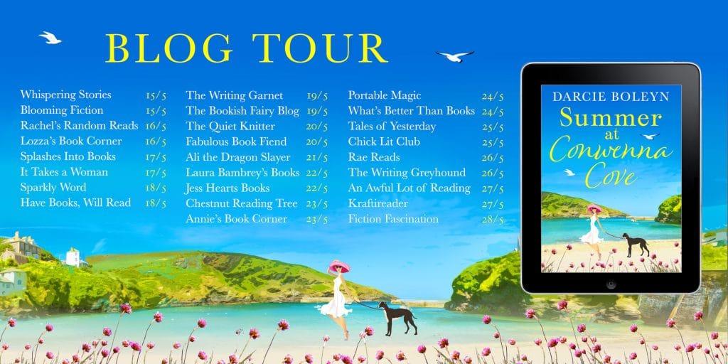 Summer at Conwenna Cove blog tour 2