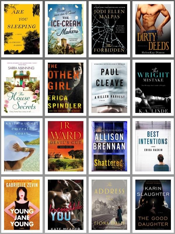 August 2017 Books