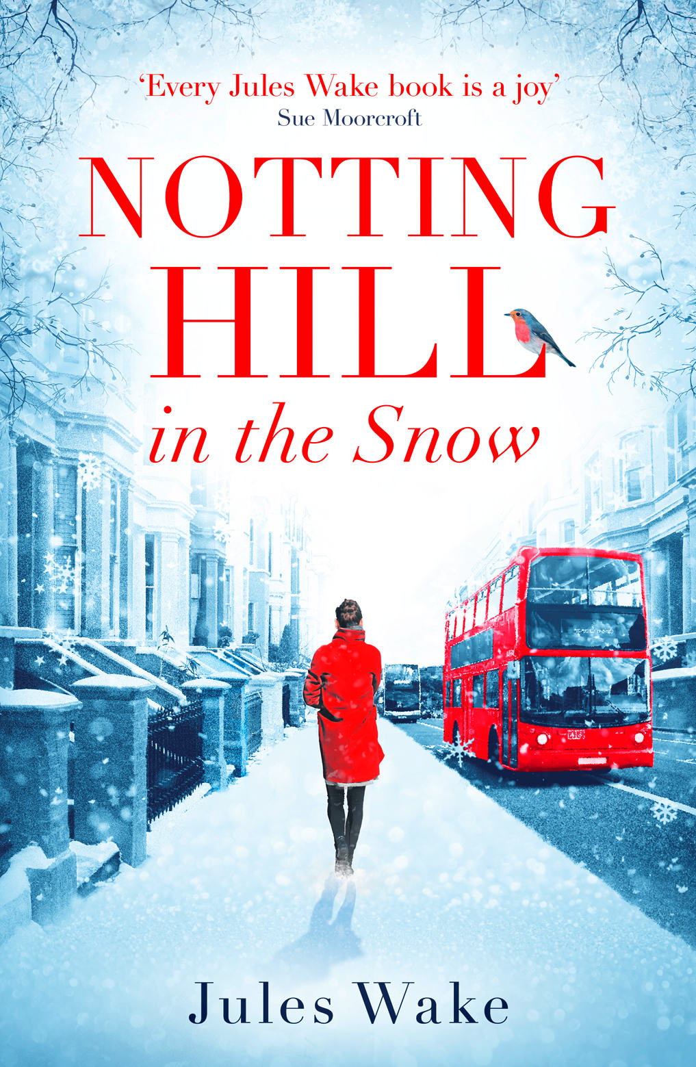 Notting Hill in the Snow by Jules Wake