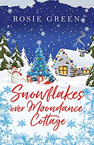Snowflakes over Moondance Cottage by Rosie Green