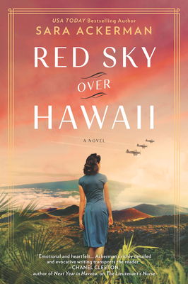 Red Sky Over Hawaii by Sara Ackerman