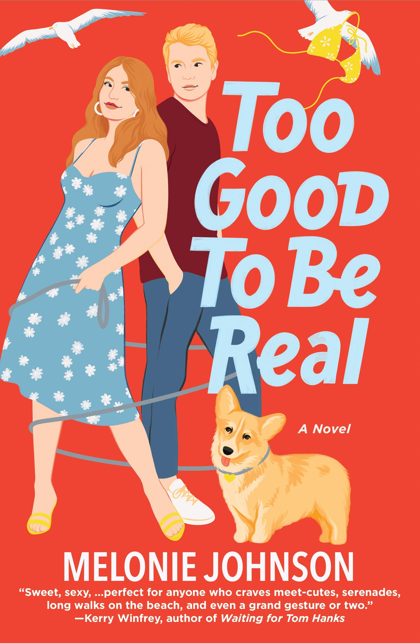 Too Good to Be Real by Melonie Johnson