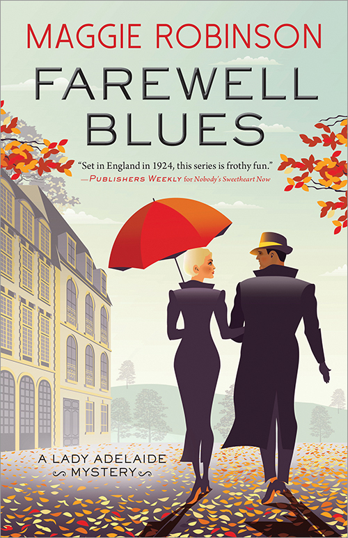 Farewell Blues by Maggie Robinson